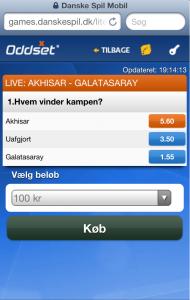 Danske Spil mobil