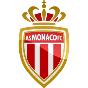Den franske Ligue 1 klub AS Monacos officielle logo