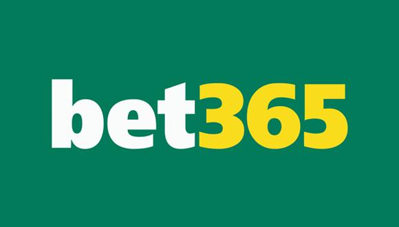 Bookmakeren bet365's officielle logo på en grøn baggrund. Hos bet365 kan man oddse på Ligue 1 og livestreame gratis