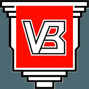Fodboldklubben Vejle Boldklubs officielle logo.