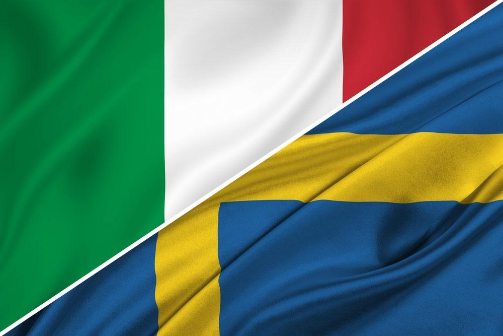 sverige vs italien