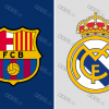 barcelona-real-madrid-logo
