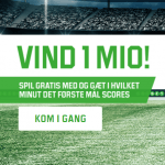 BetTime – Vind 1 million kroner gratis på Unibet her