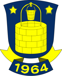 Danske Brøndby IF's officielle logo
