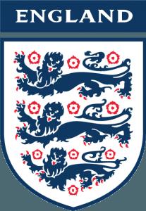 Det engelske fodboldforbunds officielle logo
