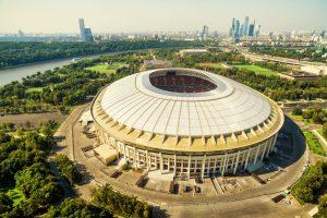 Luzhniki stadion i MOskva, hvor VM-finalen skal spilles