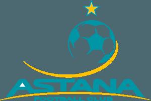 Det officielle logo for fodboldklubben FC Astana, der møder FC Midtjylland i Champions League-kvalifikationen