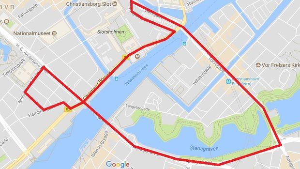 Københavns formel 1 rute