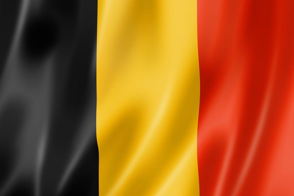 Vm 2018-deltager Belgiens flag i de klassiske sorte, gule og røde farver