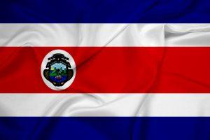Det mellemamerikanske land Costa Ricas flag