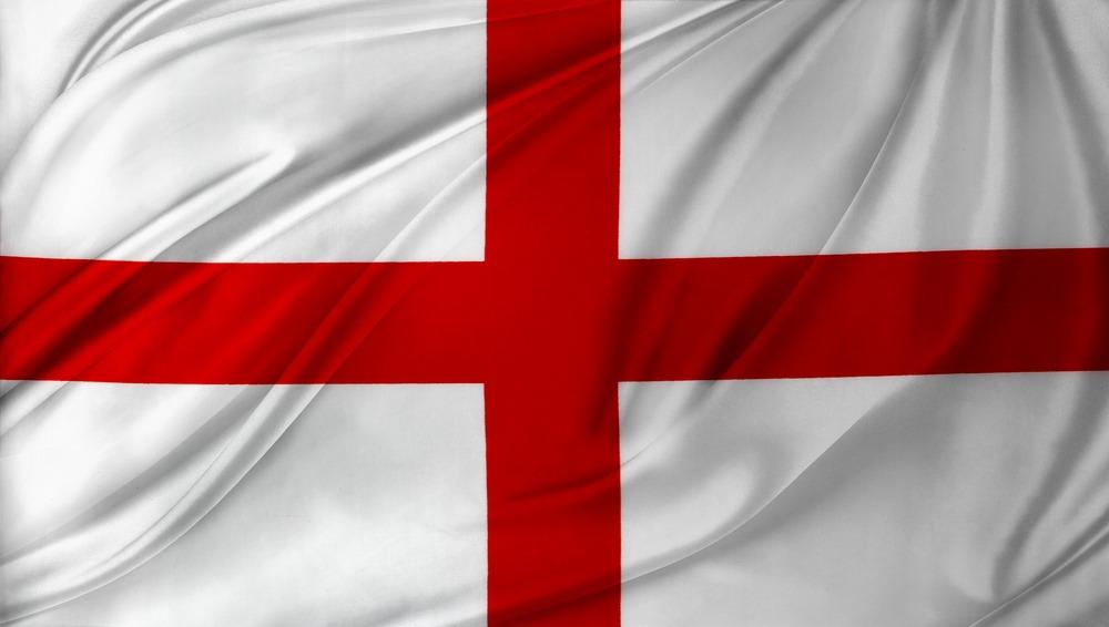Det hvid-røde engelske flag