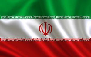 det iranske flag til VM i fodbold 2018