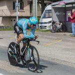 den danske cykelrytter Jakob Fuglsang under en enkeltstart ved Tour de France i 2017