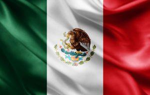 det mexicanske flag, der skal bruges ved VM 2018