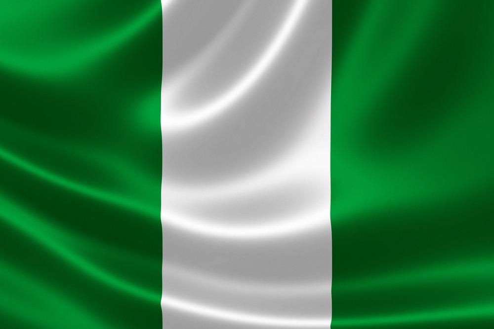 Det nigerianske flag VM i fodbold 2018