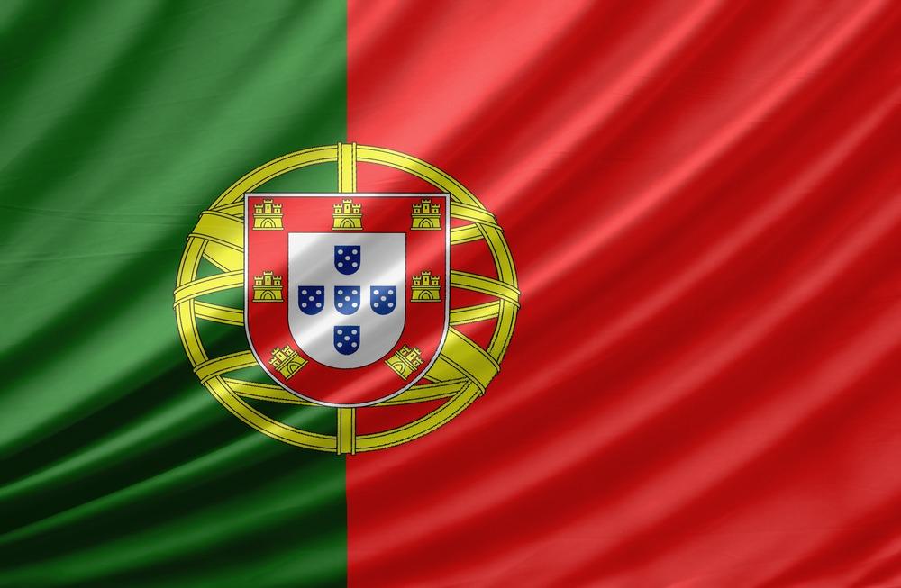 Det portugisiske flag VM i fodbold 2018