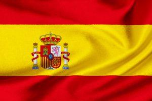 Spaniens flag til VM i fodbold 2018