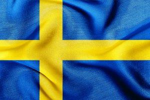 det blå-gule svenske flag