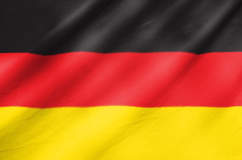 Det tyske flag VM i fodbold 2018
