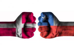 Dansk chilensk landskamp