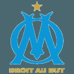 Den franske Ligue 1-klub Olympique Marseilles officielle logo