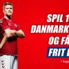 Free bet til Danmark - Australien hos Danske Spil