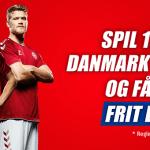 Få 100 kroner frit live spil til Danmark – Australien