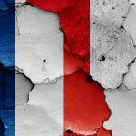 Fransk og peruviansk flag VM 2018