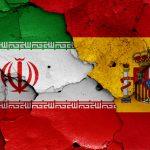 Iransk og spansk flag VM 2018