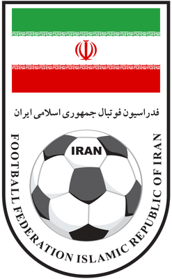 Det iranske fodboldforbunds logo