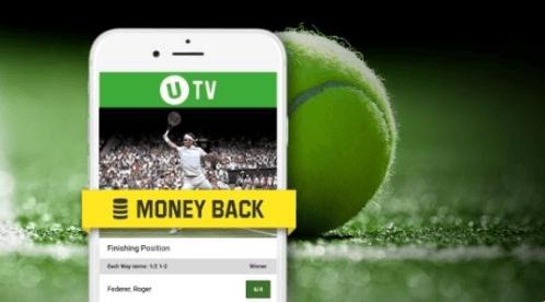Få penge igen hos Unibet hvis du taber på Wimbledon