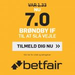 Sponsor forkæler BIF-fans: Giver odds 7 på Brøndby-sejr over Vejle