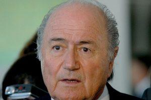 Den tidligere FIFA-præsident Sepp Blatter under et besøg i Brasilien i 2009