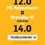 Vildt odds boost på derby: Få forhøjede odds på FCK – Brøndby søndag
