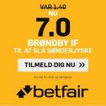 Brøndby-fans bliver forkælet – Får odds 7 på sejr over SønderjyskE