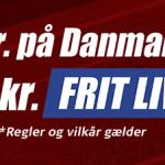 Sådan får du et 100 kroner live free bet på Danmark – Østrig