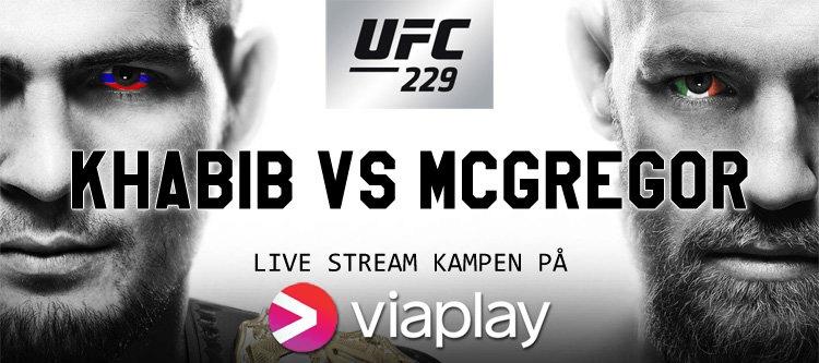 Live stream Khabib vs. McGregor