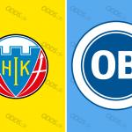 Officielle klublogoer for Hobro IK og OB