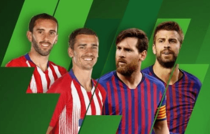 Du kan få et Atletico Madrid - Barcelona livestream og et profitboost hos Unibet
