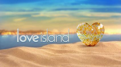 Officielt logo for Love Island Danmark