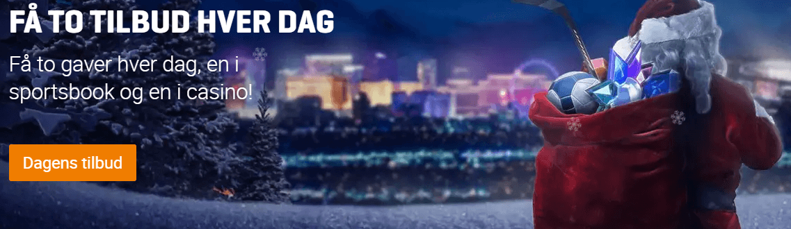 Deltag i NordicBets Julekander, få daglige præmier og chancen for at vinde fede præmier