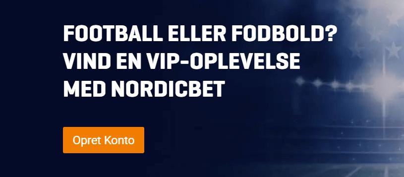 Vind billeter til Super Bowl Party eller Old Trafford hos NordicBet