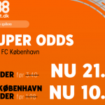 Spil 50 kr. hos 888 og få odds 10 hvis FC København vinder over OB!