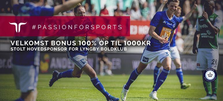 Billede, der viser Lyngby Boldklub og Jetbulls nye bonus