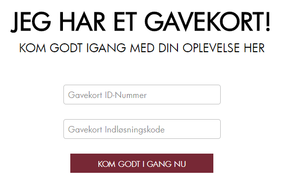 Screenshot fra godream.dk, hvor nye spillere hos Maria Casino henter deres gratis biograftur