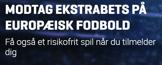 Få 100 kroner gratis risikofrit spil til EL og CL hos Nordicbet