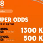 Spil 50 kr. hos 888 og vind hele 1.300 kroner på Salzburg sejr over Liverpool!
