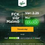 Få odds 10 på FC København sejr over Malmö FF som ny spiller hos Mr Green!
