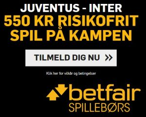 Betfair Campaign - Juventus v Inter