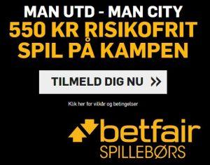 Betfair - Manchester-kampagne